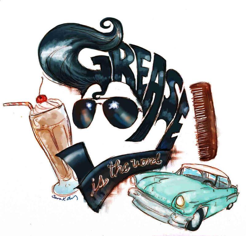 Grease Logo by Kumu18