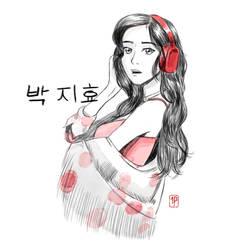 Jihyo Sketch by Indipen