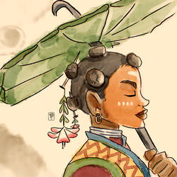 African Geisha by Indipen