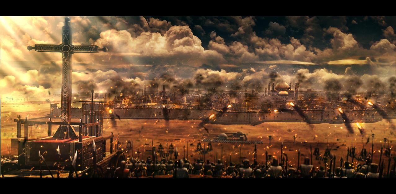 Siege of Jerusalem by MalteBlom