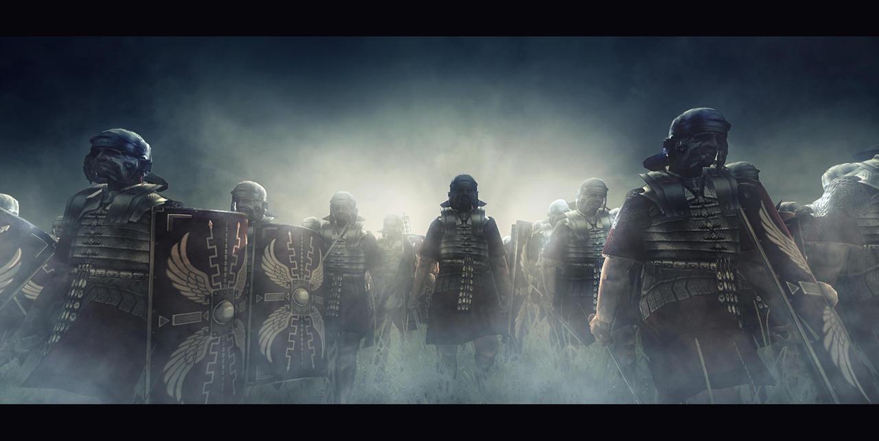 Roman Legion Wallpaper