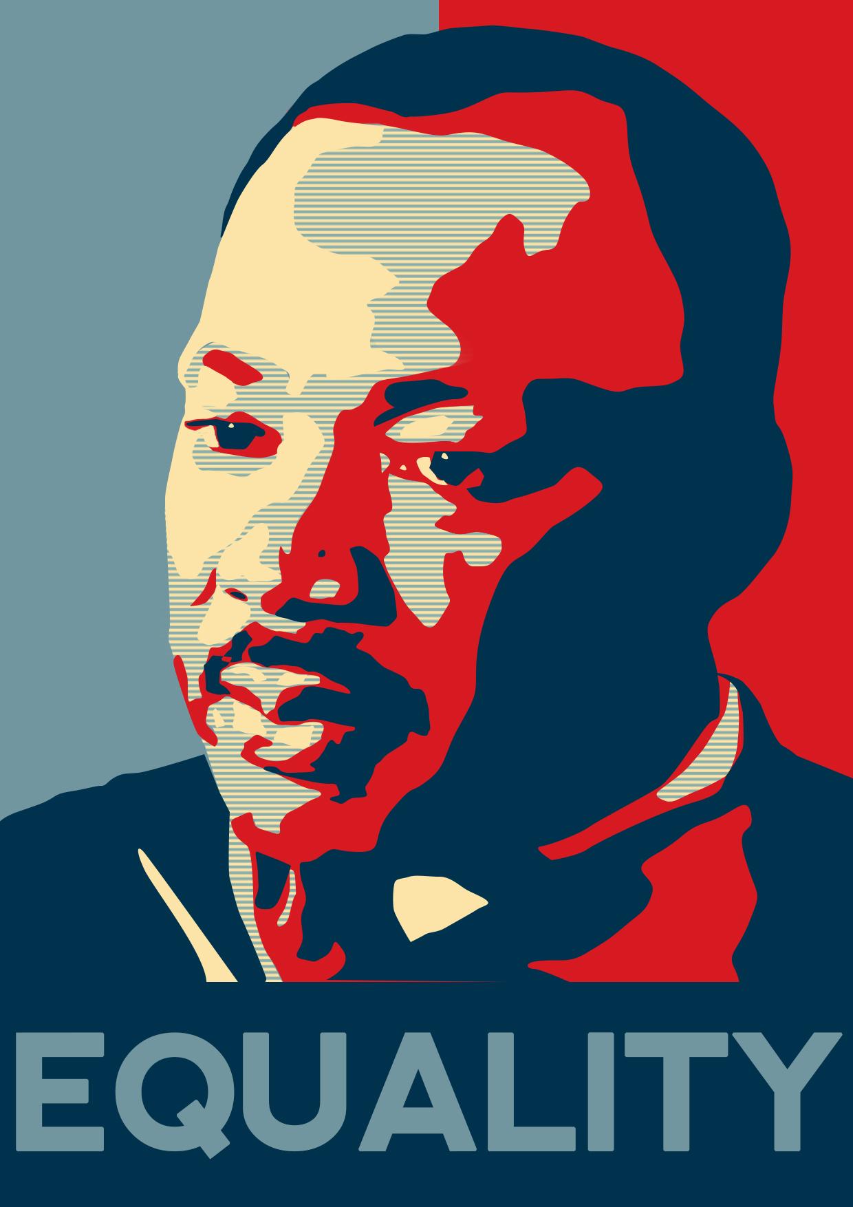 Martin Luther King Poster by MalteBlom on DeviantArt