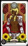 Astrology deck card: Leo