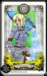 Astrology deck card : Aquarius