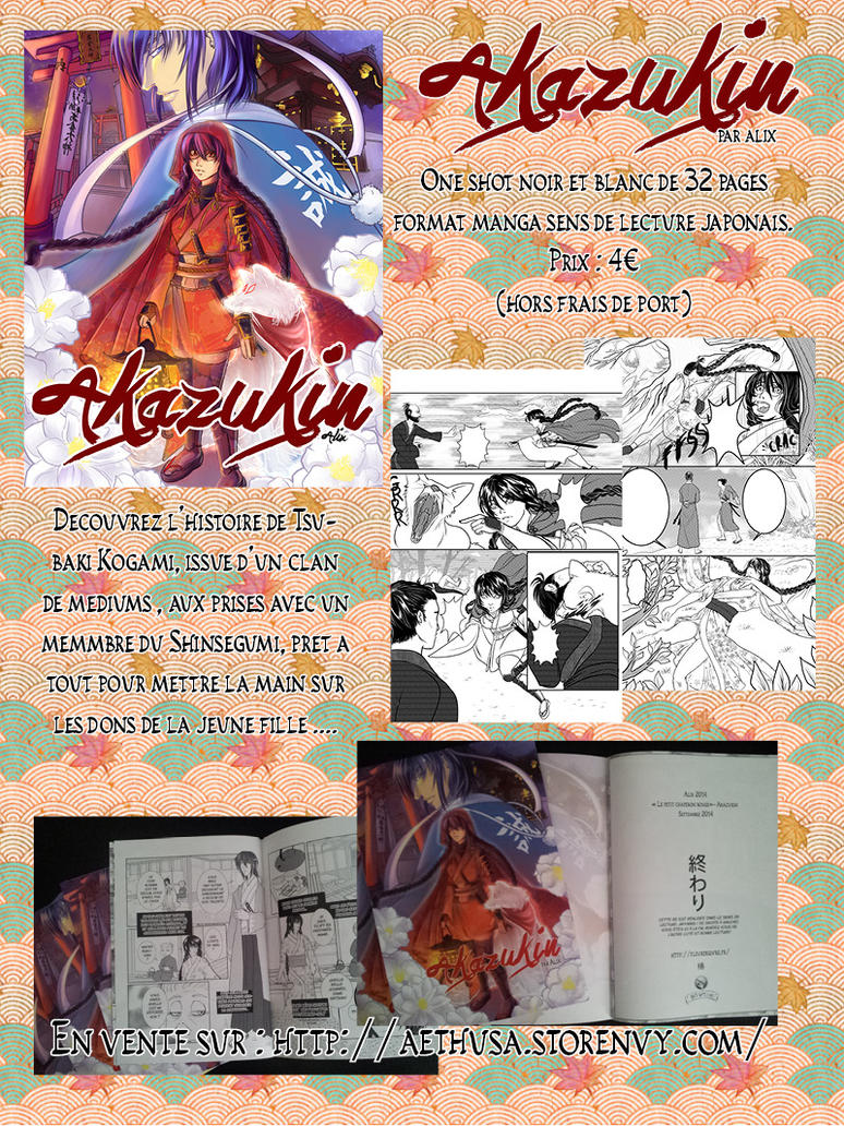 Akazukin comic for sale by Alix-Aethusa