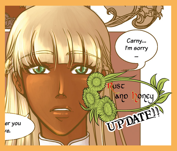 Rust and Honey - Webcomic Update! by Alix-Aethusa