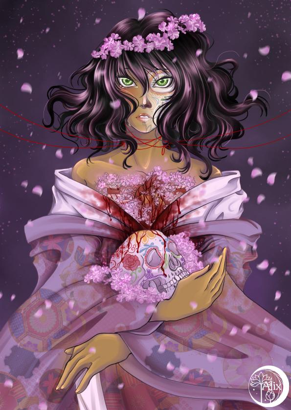 Hanakotoba: Sakuraso by Alix-Aethusa