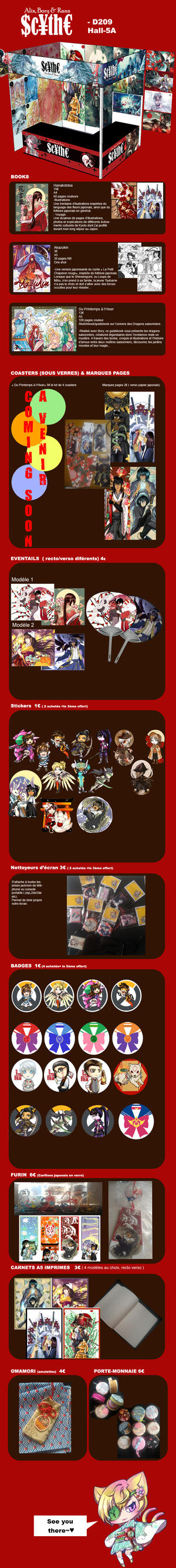 JAPAN EXPO 2016 PRODUCT LIST by Alix-Aethusa