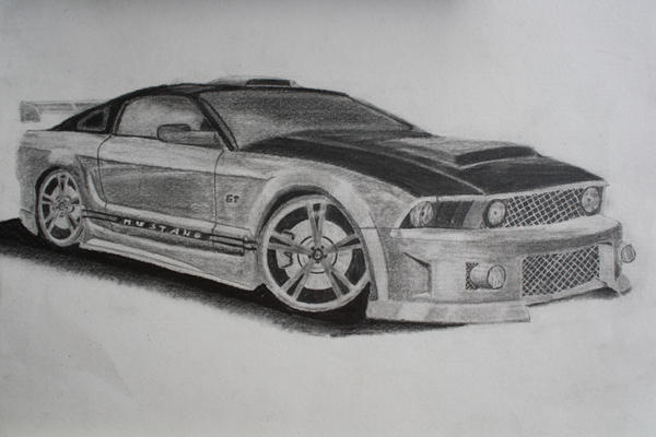 ford mustang gt drawing. Black Bedroom Furniture Sets. Home Design Ideas