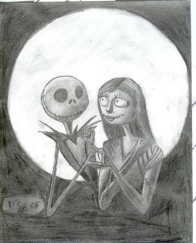 jack and sally by x6kitty6killer6x on DeviantArt