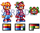 Mega Man Model He - Blossom by Shreedle