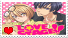 Love Stage (anime) stamp by HippiePew