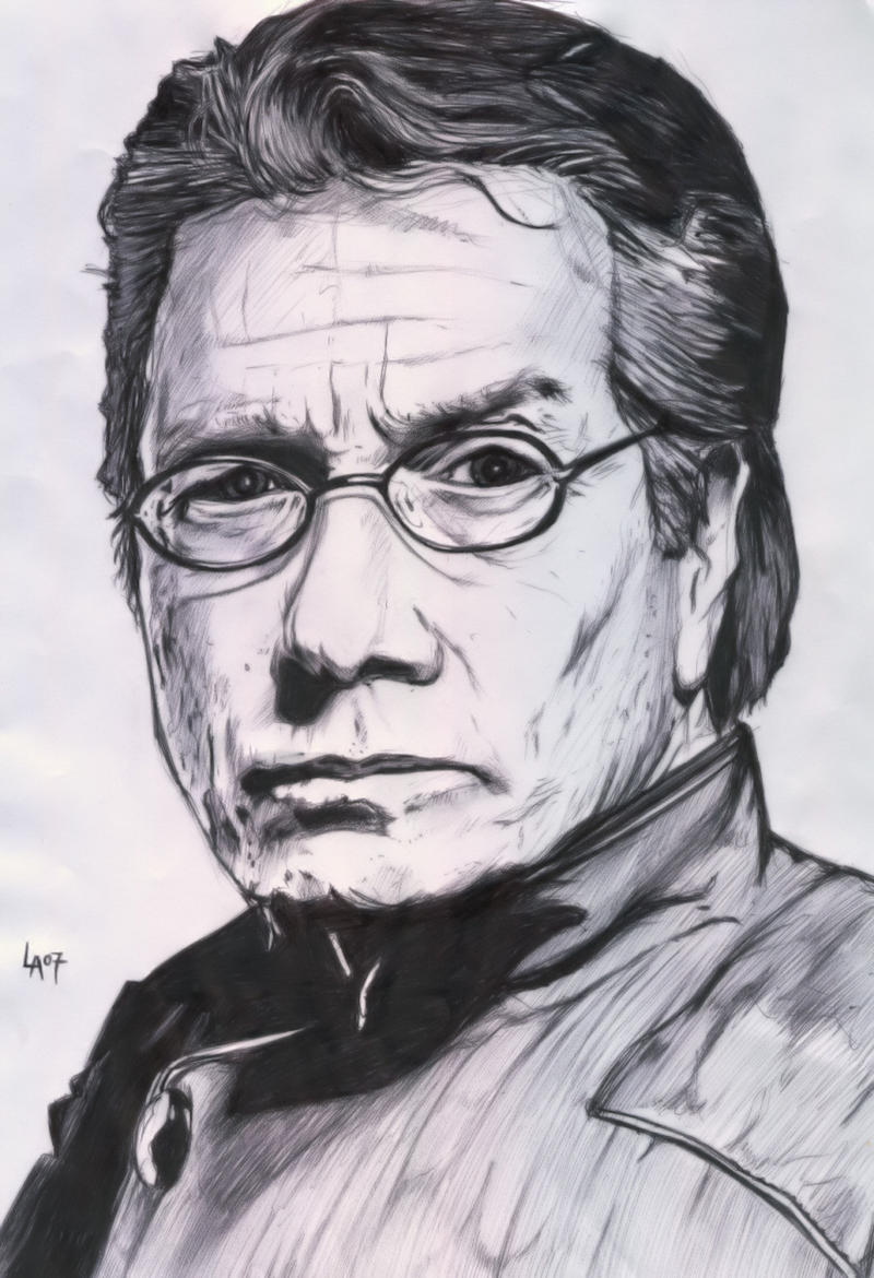'Admiral William Adama' by pichulin