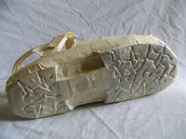 Masking Tape Shoe bottom by siostra-rana