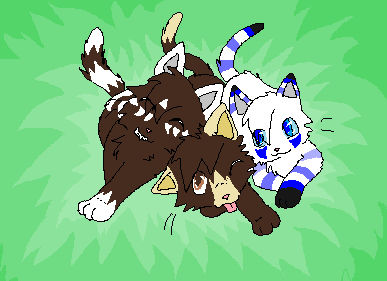 River, Me, and Frost as Kits