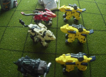 A Battlefield for Mini-Zoids