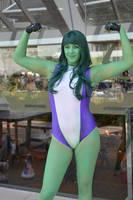 She Hulk by elenblaith