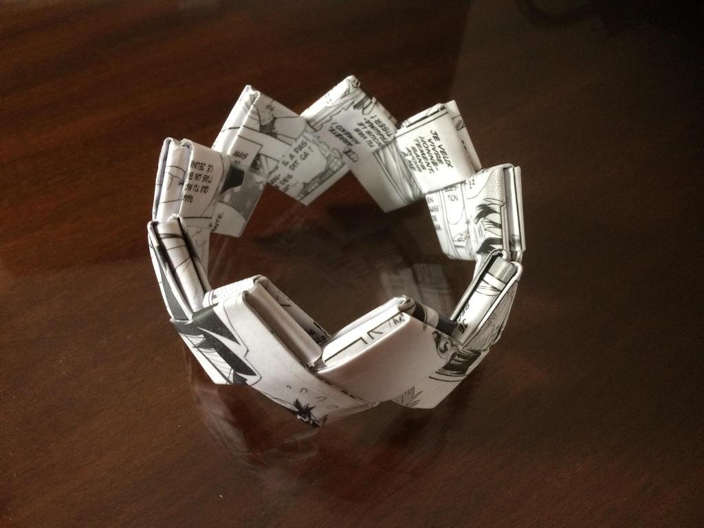 Bracelet en papier by MaryJaneee