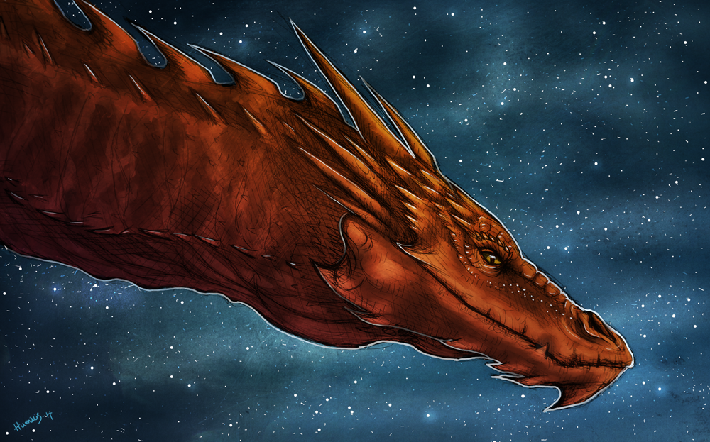 Smaug by Humius