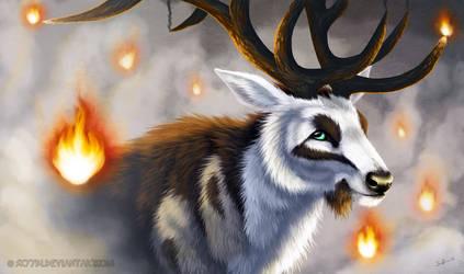 Flames (+video) by Skyybi
