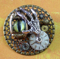 The Clockyard Steampunk Pin