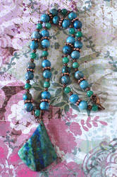 Popuri of Stones Necklace by cjgrand