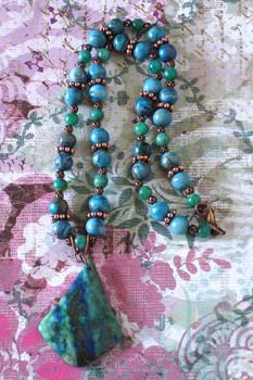 Popuri of Stones Necklace
