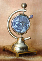 Brass Steampunk Display Piece
