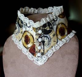 Steampunk Collar Corset by cjgrand
