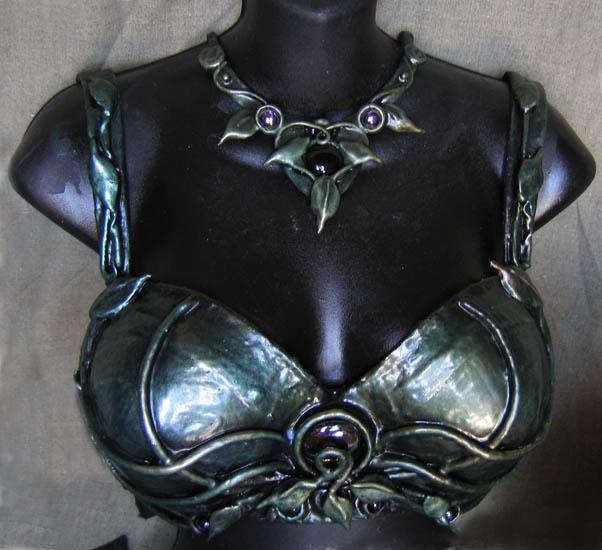 Collaboration : Organic Armor by SabrinaBellydancer