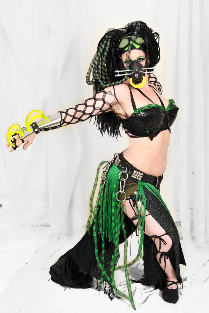 Original Cyber Goth Costume by SabrinaBellydancer