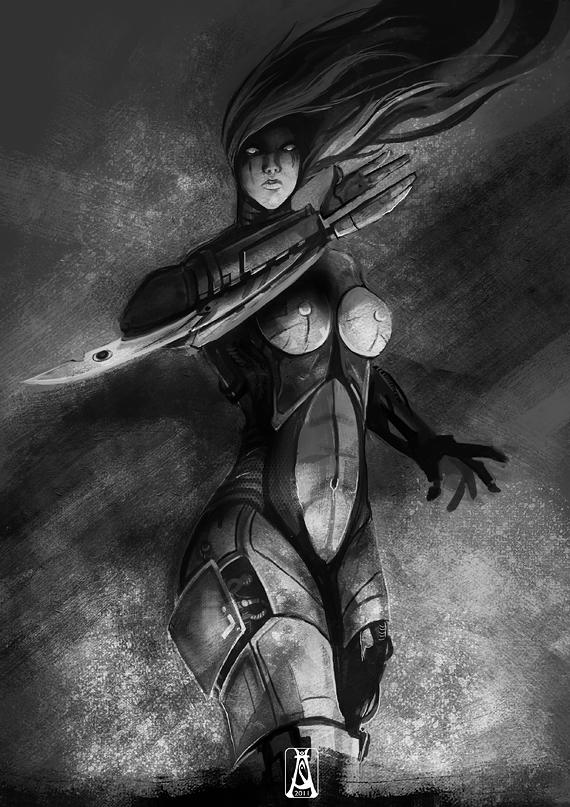 Code B.I.R.U. - Cyborg by Tyrune