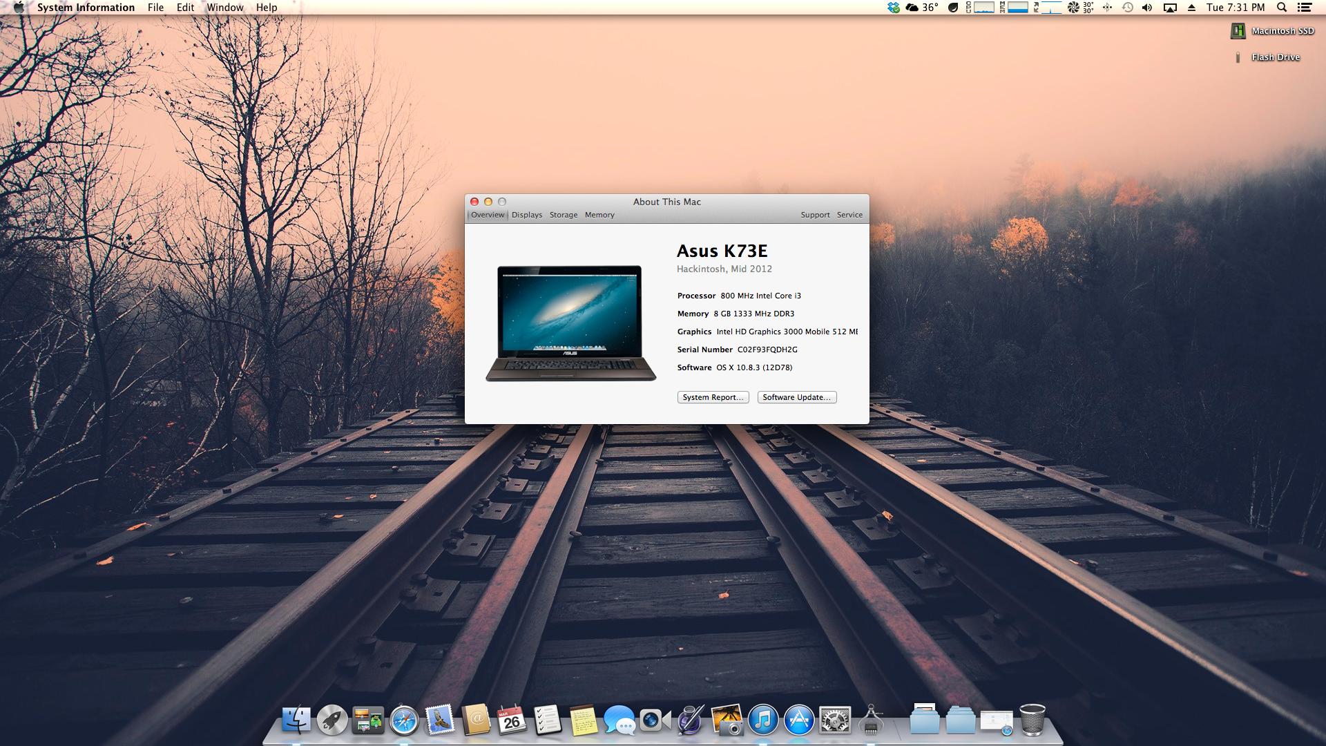 Mac os x el capitan installation on asus h110 chipset skylake desktop computer with