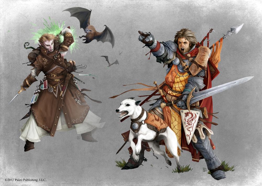 Pathfinder - Animal Companions by TimKings-Lynne on DeviantArt