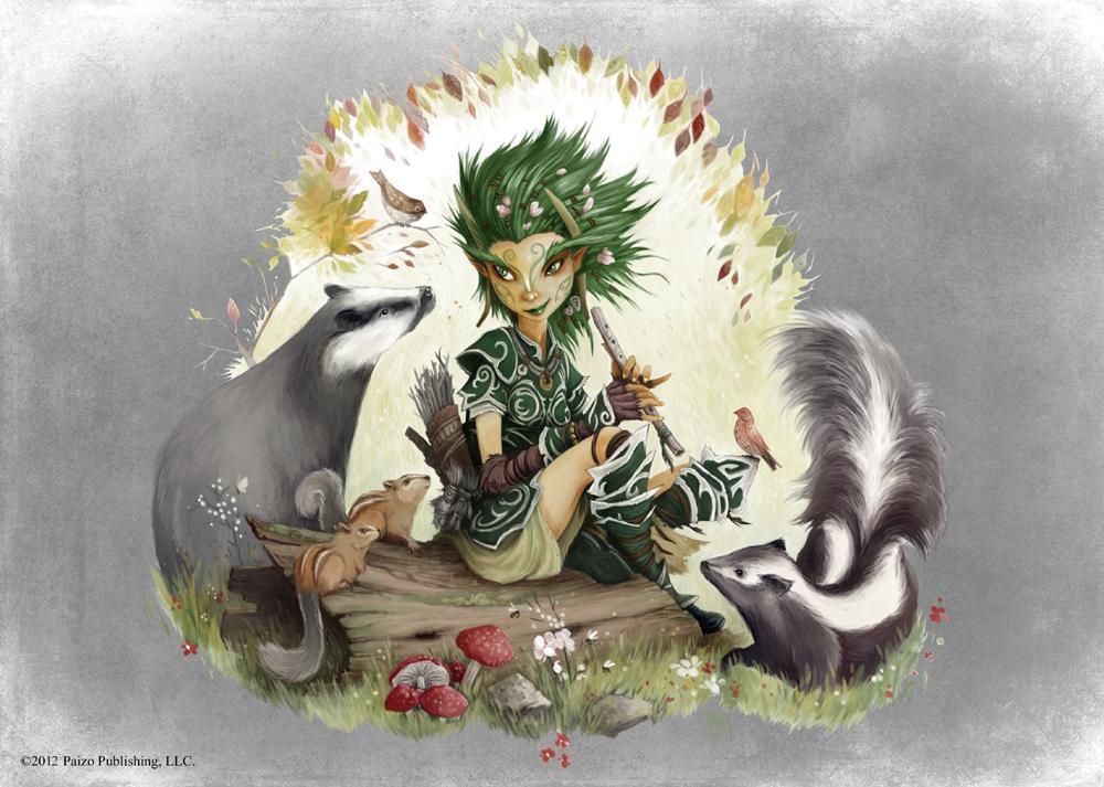 Pathfinder - Druid by TimKings-Lynne