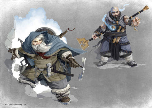 Pathfinder - Mountaineer and Monk