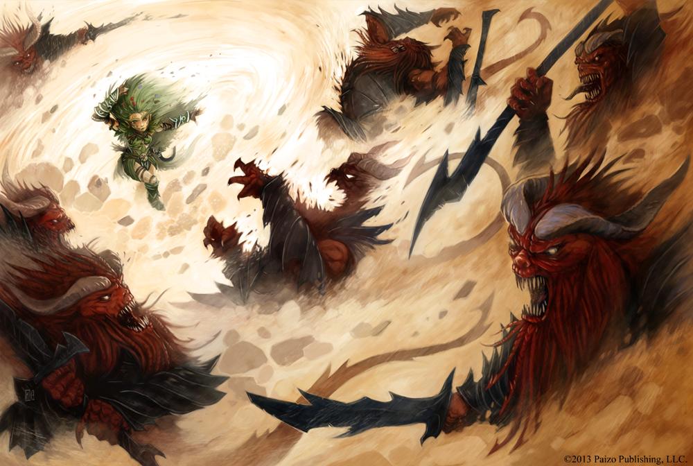 Pathfinder - Mythic Druid by TimKings-Lynne