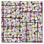 Fractal Mondrian