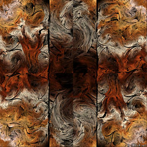 Abstract triptych 1