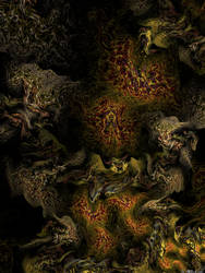 In labyrinths of coral caves by IDeviant