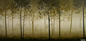'Hazy Summer Forest' by VenskeArts