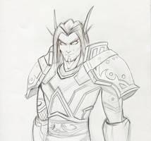 Angerein Sketch by VenskeArts