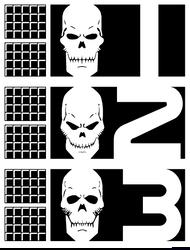 Rogue Trooper: Biochips: Helm, Gunnar, Bagman by JonathanBluestone