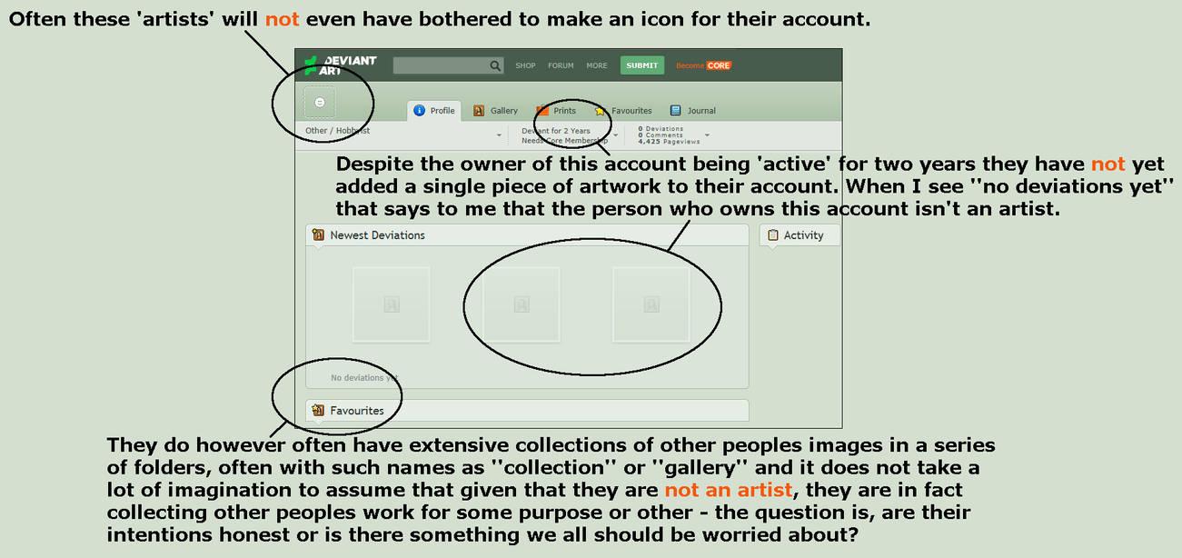 Beware the EMPTY Accounts by JonathanBluestone on DeviantArt