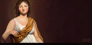 Madame de Verninac by Rafik Emil H