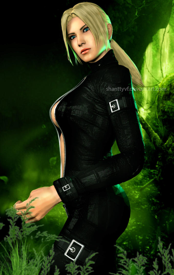 Nina Williams by Shanttyvf
