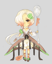 Free Adopt: Napolitan Rose (closed) WINNER by cottonpuffs