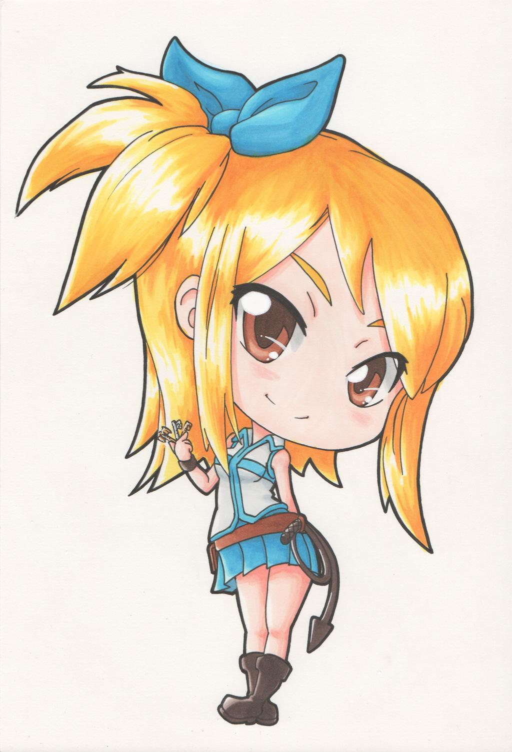 chibi anime girls fairy - photo #24