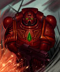 Blood angel-Space marine