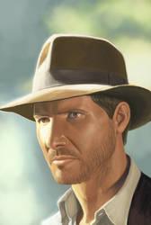 Indiana Jones by 1nkor
